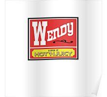 Wendy Likes it Hot 'n Juicy Poster