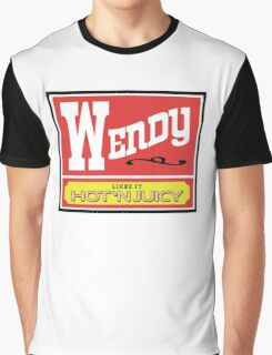 Wendy Likes it Hot 'n Juicy Graphic T-Shirt
