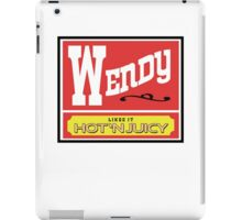 Wendy Likes it Hot 'n Juicy iPad Case/Skin