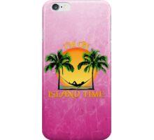 Island Time Pink iPhone Case/Skin