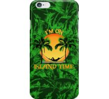 Island Time Palm Trees iPhone Case/Skin