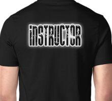 INSTRUCTOR, Coach, Teacher, Trainer, on Black Unisex T-Shirt