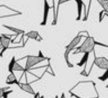 Origami Animals Sticker