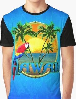 Hawaii Sunset Graphic T-Shirt