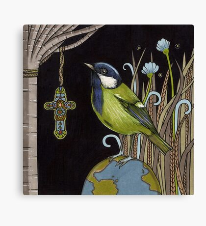 Reverend Green Canvas Print