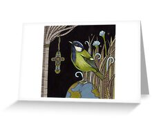 Reverend Green Greeting Card