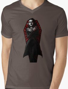 """She's got a date at midnight with Nosferatu"" Mens V-Neck T-Shirt"