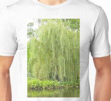 Weeping Willow by the Pond  Unisex T-Shirt