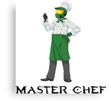 Master Chef Canvas Print