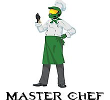Master Chef Photographic Print