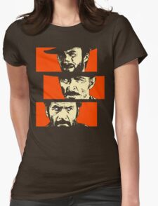 Blondie, Angel Eyes, Tuco Womens Fitted T-Shirt