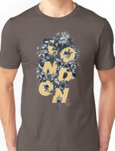 LONDON FLOWERS Unisex T-Shirt
