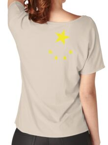CHINA, CHINESE, Chinese stars, Chinese Flag, Flag of China, People's Republic of China, Portrait Women's Relaxed Fit T-Shirt