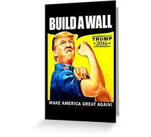 Build a Wall Greeting Card