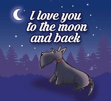 I love you to the moon and back by BonniePortraits