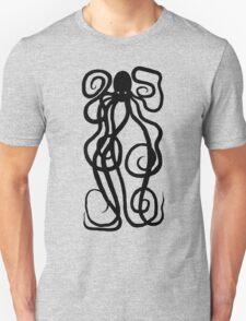 Kraken Black Unisex T-Shirt