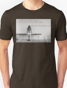 You'll Sit Alone Forever - Jimmy Eat World Lyrics inspired by If You Don't Don't T-Shirt