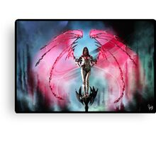 Robot Angel Painting 018 Canvas Print