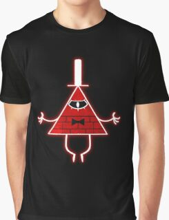 Gravity Falls Bill Cipher Angry Graphic T-Shirt