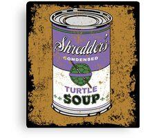 SHREDDER'S DONNIE SOUP Canvas Print