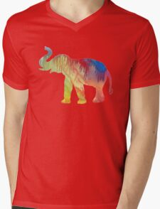 Elephant  Mens V-Neck T-Shirt