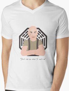 Lost - John Locke Mens V-Neck T-Shirt