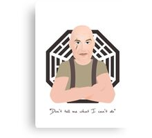 Lost - John Locke Canvas Print