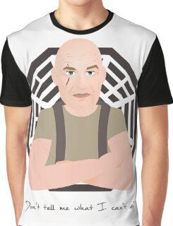 Lost - John Locke Graphic T-Shirt