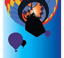 Hot Air Ballooning Photographic Print