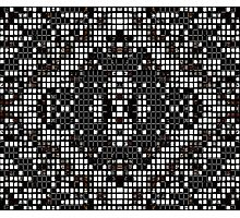Industrial Grid Mosaic Tile Photographic Print