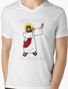 Dab Mens V-Neck T-Shirt