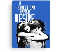 "Film Covers: ""A StreetCar named Desire"", nº1 Canvas Print"