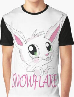 Snowflake bunny Graphic T-Shirt