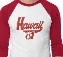 thom yorke's hawaii t shirt Men's Baseball ¾ T-Shirt