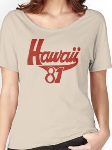 thom yorke's hawaii t shirt Women's Relaxed Fit T-Shirt