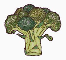 brilliant broccoli One Piece - Short Sleeve