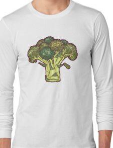 brilliant broccoli Long Sleeve T-Shirt