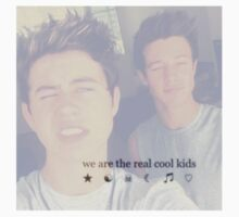 """Nash Grier and Cameron Dallas- """"We are the Cool Kids"""" edit Kids Tee"""