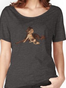 Ymir and Christa - Borzoi and Saluki Women's Relaxed Fit T-Shirt