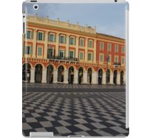 Nice, France, French Riviera - the Cheerful Colors of Place Massena  iPad Case/Skin