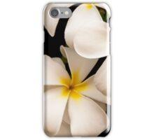 Yellow and White Plumeria iPhone Case/Skin