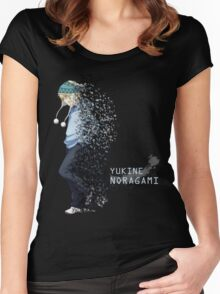 Yukine Noragami Women's Fitted Scoop T-Shirt
