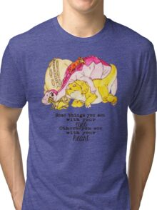 The Land Before Time: Group Hug Tri-blend T-Shirt