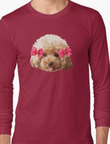 Baby Poodle Long Sleeve T-Shirt