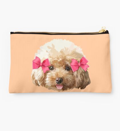 Baby Poodle Studio Pouch