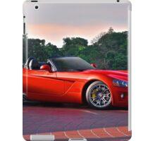 201X Dodge Viper 'In the Red' iPad Case/Skin