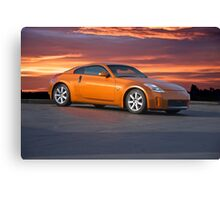2005 Nissan 350 Z Sports Coupe Canvas Print