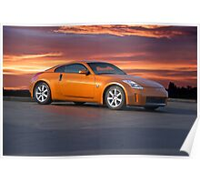 2005 Nissan 350 Z Sports Coupe Poster