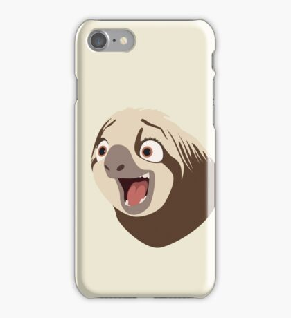 Sloth flash iPhone Case/Skin