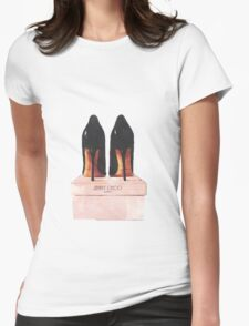 Jimmy Choo Shoes Womens Fitted T-Shirt